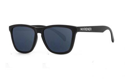 Our new Mariener Matt Black Melange Sunglasses with Reflective Dark Silver Lens.