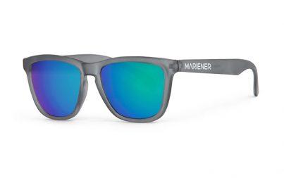 Frozen Grey Melange Sunglasses with our Ocean lenses