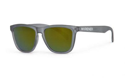 Frozen Grey Melange Sunglasses with our Jungle lenses