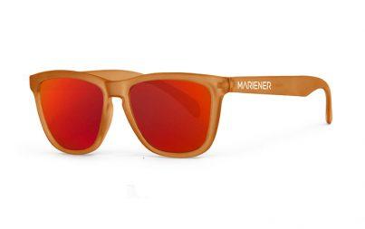 Frozen Orange Melange Sunglasses with our Red Lava lenses