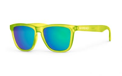 Our new Mariener Frozen Citrus Melange Sunglasses with Reflective Ocean Lens.