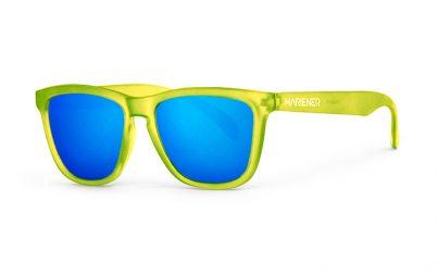 Our new Mariener Frozen Citrus Melange Sunglasses with Reflective Sky Lens.