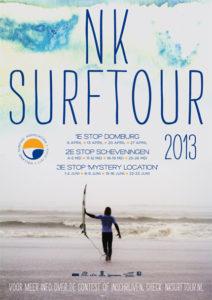 Poster NK Surftour 2013