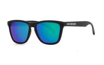 Our new Mariener Matt Black Melange Sunglasses with Reflective Ocean Lens.