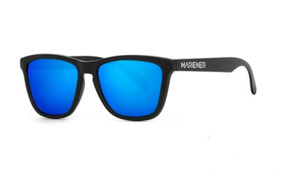 Our new Mariener Matt Black Melange Sunglasses with Reflective Sky Lens.