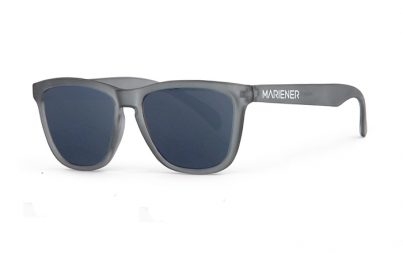 Frozen Grey Melange Sunglasses with our Dark Silver lenses