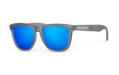Frozen Grey Melange Sunglasses with our Sky lenses