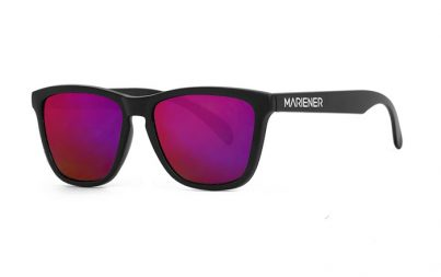 Mariener Melange Black|Purple Lava