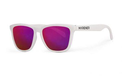 Mariener Melange White Purple Lava Sunglasses