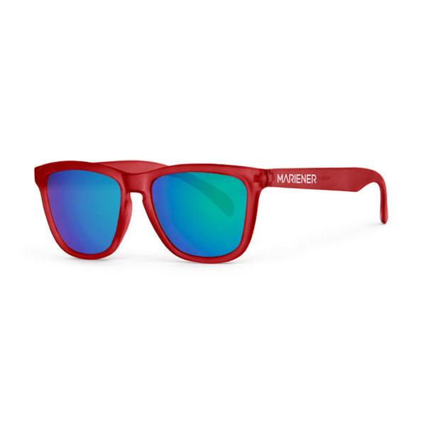 Mariener Melange Frozen Red Ocean Sunglasses