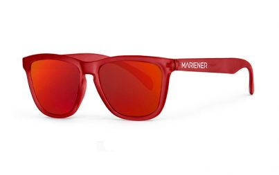Frozen Red Sunglasses with Red Lava Lenses from Mariener