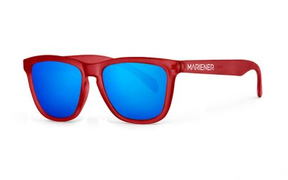 Mariener Melange Frozen Red|Sky Sunglasses