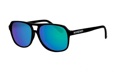 Black Motion Sunglasses with our Ocean lenses
