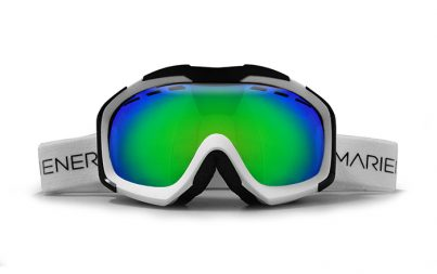 A full option spherical Mariener Mountain Ski/Snowboard Goggle with Hydrophobic Ocean Lens