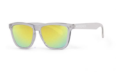 Our new Mariener Clear Melange Sunglasses with Reflective Hyla Lens.