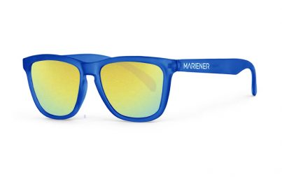 Our new Mariener Frozen Blue Melange Sunglasses with Reflective Hyla Lens.