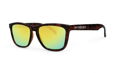 Our new Mariener Tortoise Melange Sunglasses with Reflective Hyla Lens.