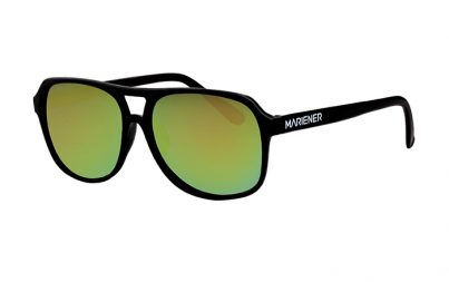 Black Motion Aviator Sunglasses with our reflective Jungle lenses