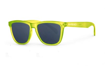 Our new Mariener Frozen Citrus Melange Sunglasses with Reflective Dark Silver Lens.