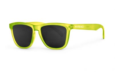 Our new Mariener Frozen Citrus Melange Sunglasses with Polarized Dark Smoke Lens.