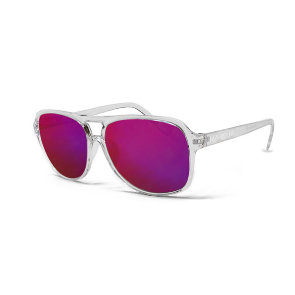 Mariener Motion Clear Purple Lava Sunglasses