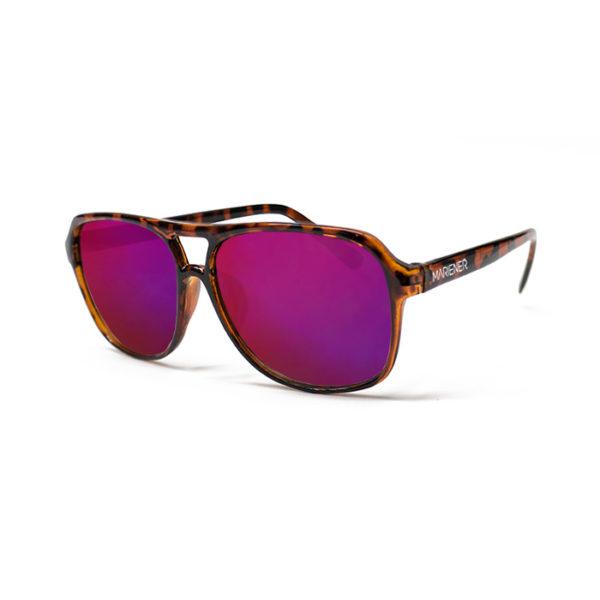 Mariener Motion Tortoise Purple Lava Sunglasses