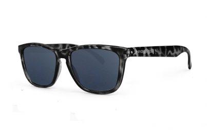 Tortoise Black Melange Sunglasses with our Dark Silver lenses