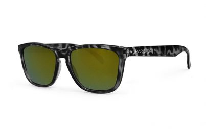Tortoise Black Melange Sunglasses with our Reflective Jungle lenses