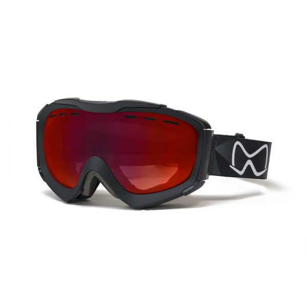 Mariener Mountain Black|Red Lava Snow Goggle