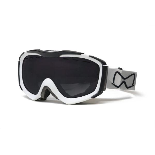 Mariener Mountain White Dark Smoke Snow Goggle