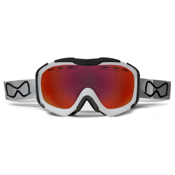 Mariener Mountain White|Red Lava Snow Goggle