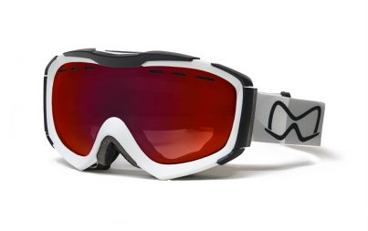 Mariener Mountain White|Red Lava Snow Goggle