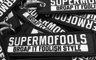 Supermofools Official Merchandise Keychain