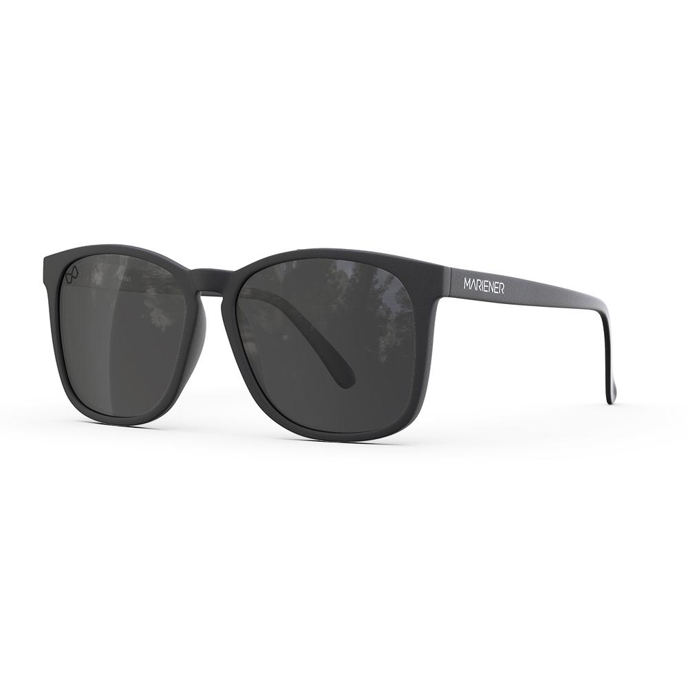 Mariener-Mana-Rubber-Matte-Black-Zwart-Dark-Smoke-Polarized-Oversized-Round-Sunglasses-Gepolarizeerde-Zonnebril-Angle