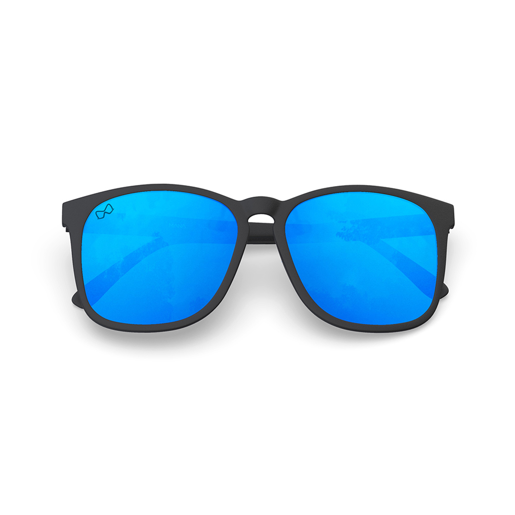 Mariener-Mana-Rubber-Matte-Black-Zwart-Sky-Blue-Oversized-Round-Sunglasses-Gepolarizeerde-Zonnebril-Overview