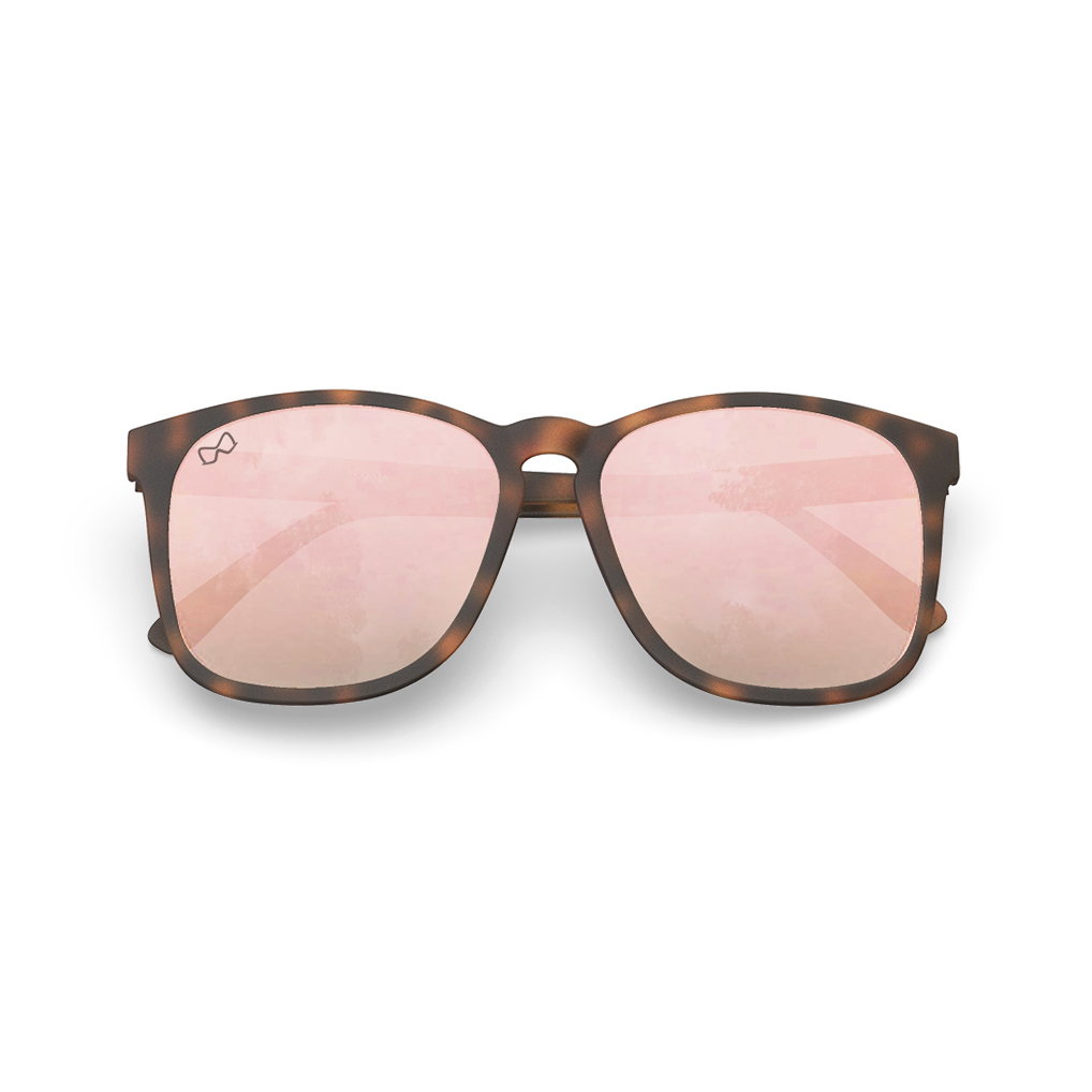 Mariener-Mana-Rubber-Matte-Tortoise-Rose-Gold-Oversized-Round-Sunglasses-Zonnebril-Overview