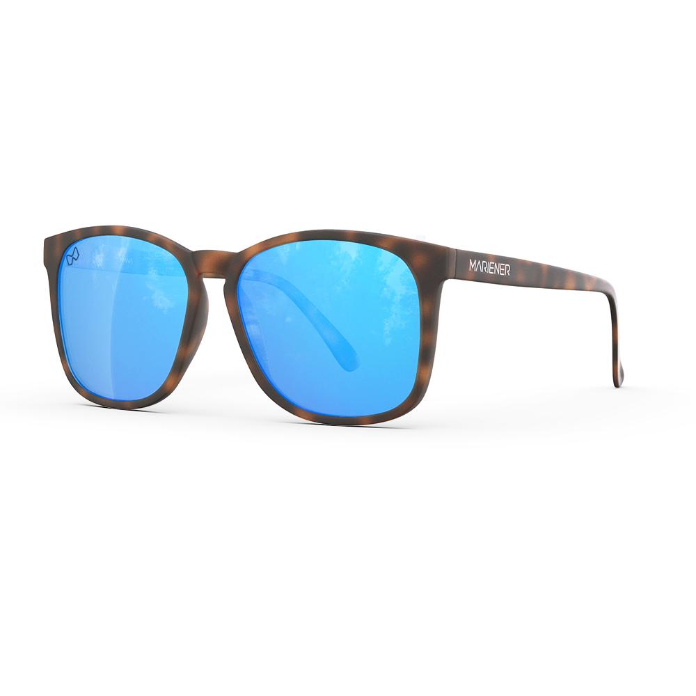 Mariener-Mana-Rubber-Matte-Tortoise-Sky-Oversized-Round-Sunglasses-Zonnebril-Angle