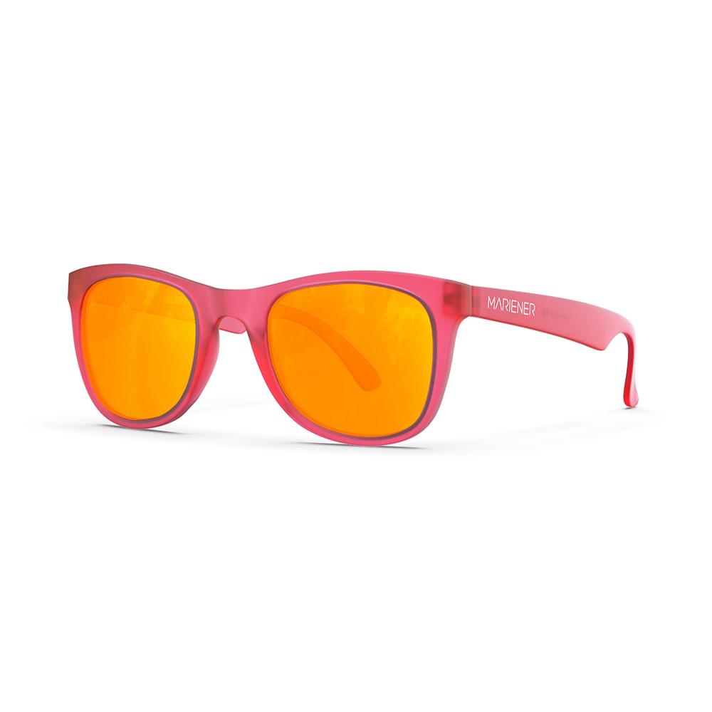 Mariener-Melange-Jr-Frozen-Pink-Orange-Lava-Kids-Sunglasses-Wit-Kinderzonnebril-Angle