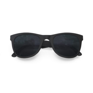 Melange Jr – Matte Black | Dark Smoke Wayfarer Kids Sunglasses