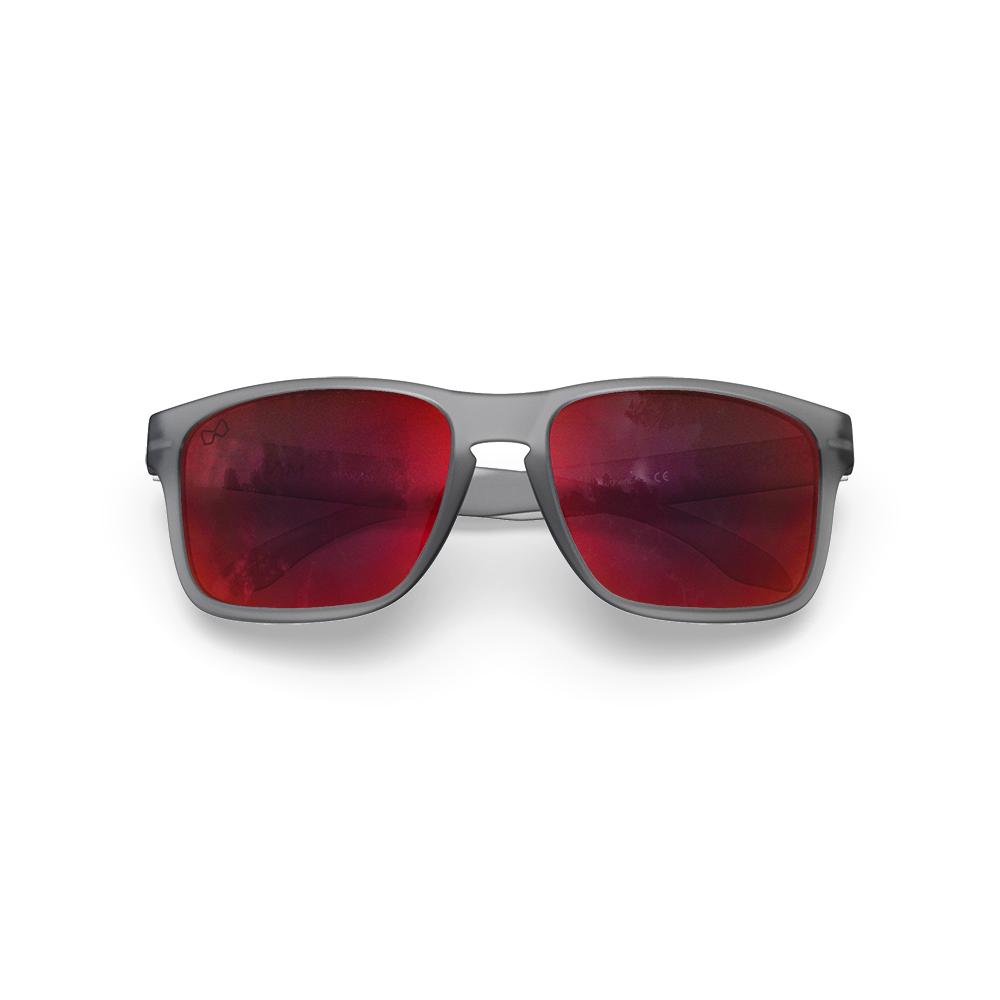 Mariener-Melange-Makan-Frozen-Grey-Red-Lava-Adult-Sunglasses-Zonnebril-Volwassenen-Folded