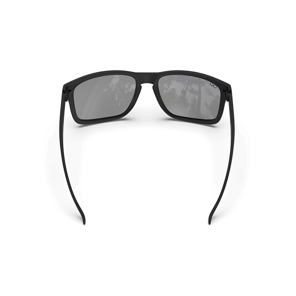 Mariener-Melange-Makan-Matte-Black-Dark-Smoke-Polarized-Adult-Sunglasses-Zonnebril-Volwassenen-Gepolariseerd-Angle-Backside