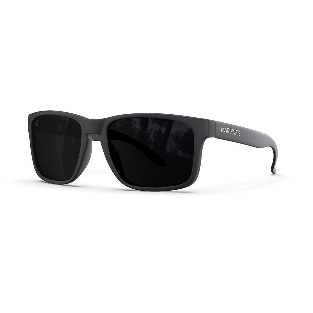 Mariener-Melange-Makan-Matte-Black-Dark-Smoke-Polarized-Adult-Sunglasses-Zonnebril-Volwassenen-Gepolariseerd-Angle