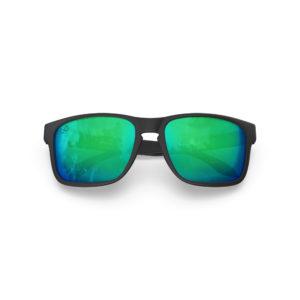 Makan – Matte Black Rubber | Ocean Rectangular Sunglasses