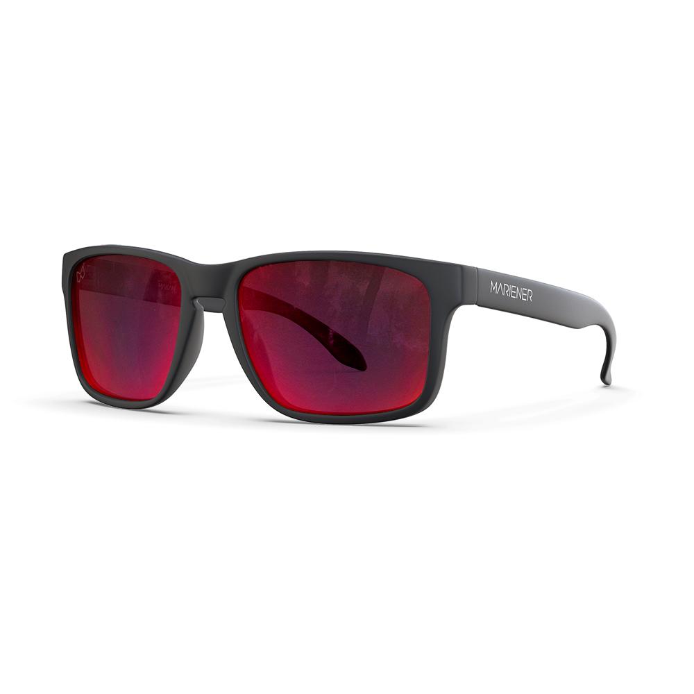 Mariener-Melange-Makan-Matte-Black-Red-Lava-Adult-Sunglasses-Zonnebril-Volwassenen-Angle