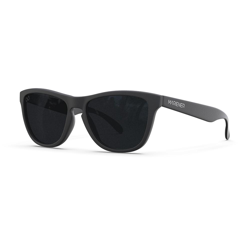 Mariener-Melange-Wayfarer-Rubber-Matte-Black-Dark-Smoke-Polarized-Wayfarer-Sunglasses-Gepolariseerde-Zonnebril-Angle