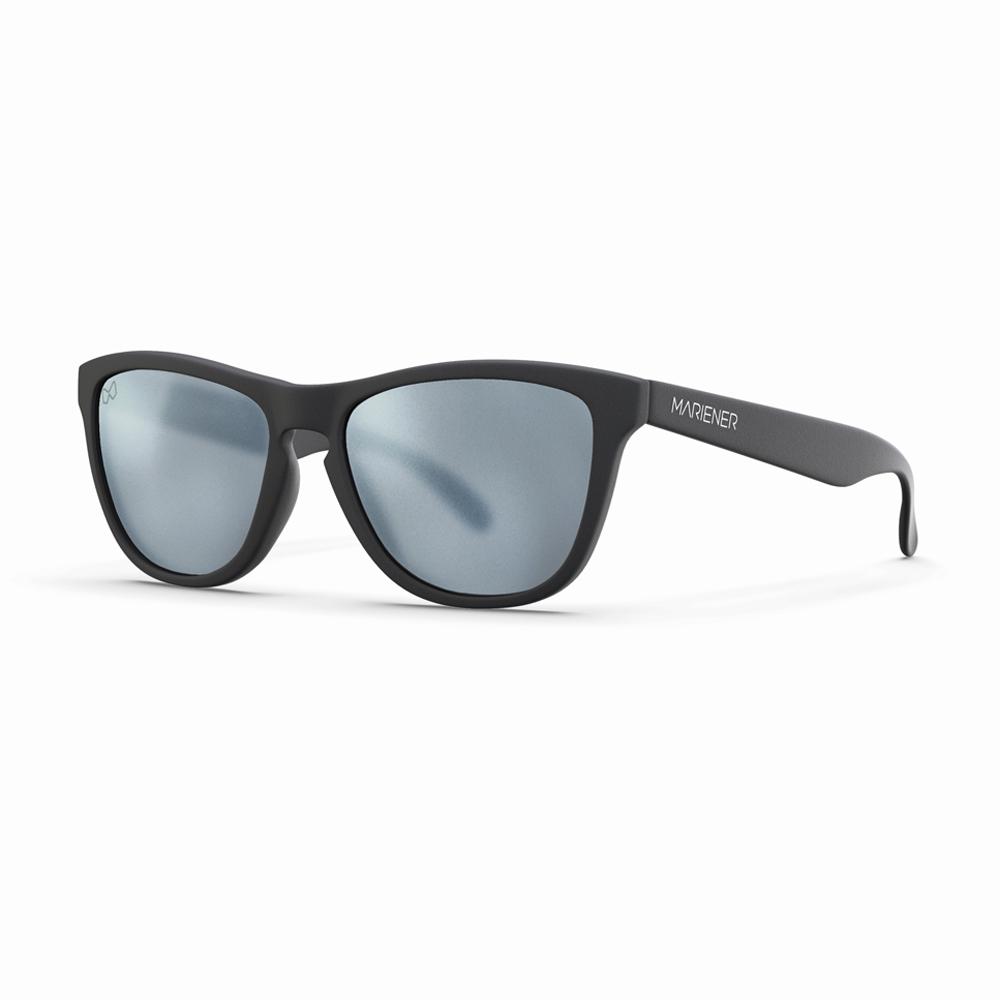 Mariener-Melange-Wayfarer-Rubber-Matte-Black-Matte-Reflective-Dark-Silver-Wayfarer-Sunglasses-Matte-Lens-Zonnebril-Angle