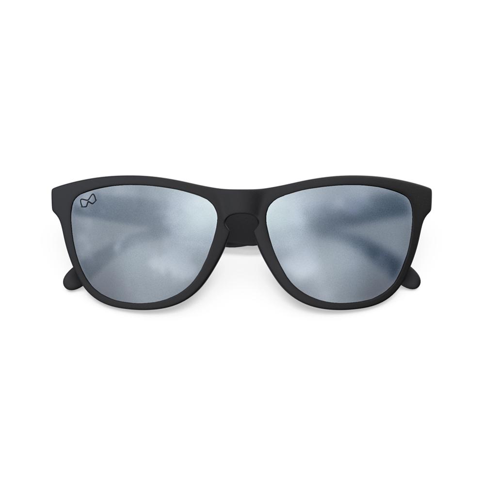 Mariener-Melange-Wayfarer-Rubber-Matte-Black-Matte-Reflective-Dark-Silver-Wayfarer-Sunglasses-Matte-Lens-Zonnebril-Overview