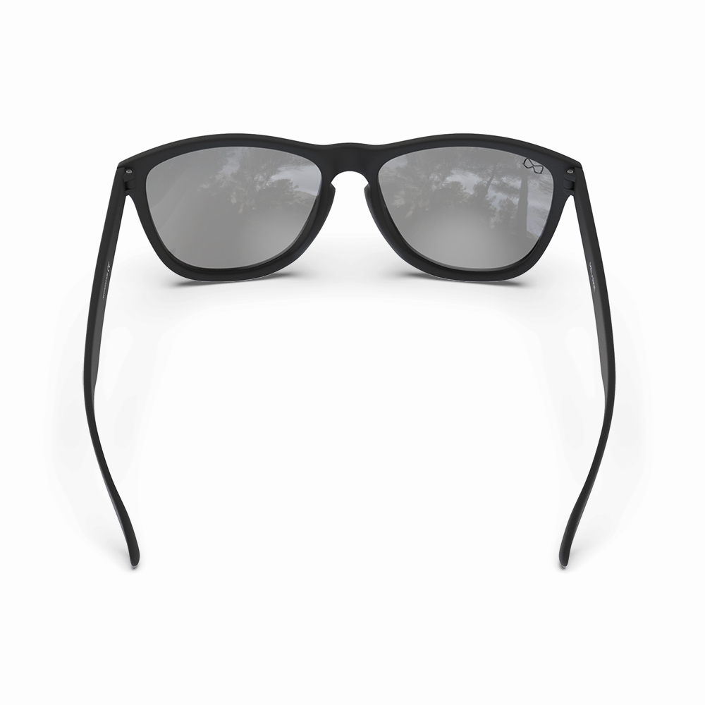 Mariener-Melange-Wayfarer-Rubber-Matte-Black-Ocean-Wayfarer-Sunglasses-Zwarte-Zonnebril-Backside