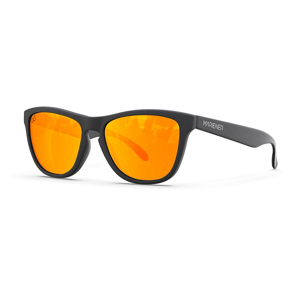 Mariener-Melange-Wayfarer-Rubber-Matte-Black-Orange-Lava-Wayfarer-Sunglasses-Zonnebril-Angle