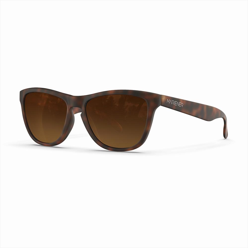 Mariener-Melange-Wayfarer-Rubber-Tortoise-Amber-Gradient-Wayfarer-Sunglasses-Bruine-Zonnebril-Angle